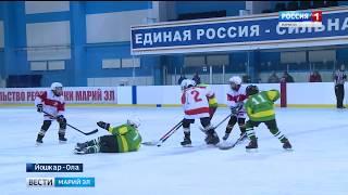 В Йошкар-Оле продолжается республиканский этап соревнований «Золотая шайба»
