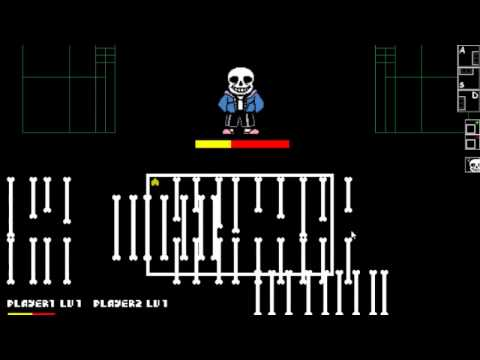 My Kids Play Undertale Simulator - Sans Battle : 2 vs 1