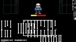 Let's Play Undertale Simulator - Sans Battle : 2 vs 1