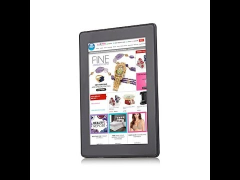 New Kindle Fire HD 7in 2nd Gen Tablet with Case