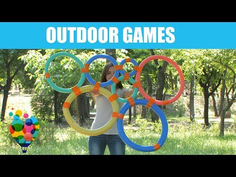 Easy Outside Activities and games for children