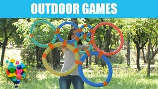 DIY Games - 3 Exciting Outdoor Games For Kids | A+ hacks