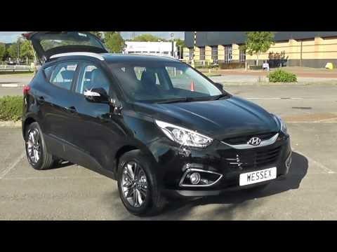 Hyundai IX35 SE Nav CRDi 1.7 Black Pre registered Wessex Garages Newport