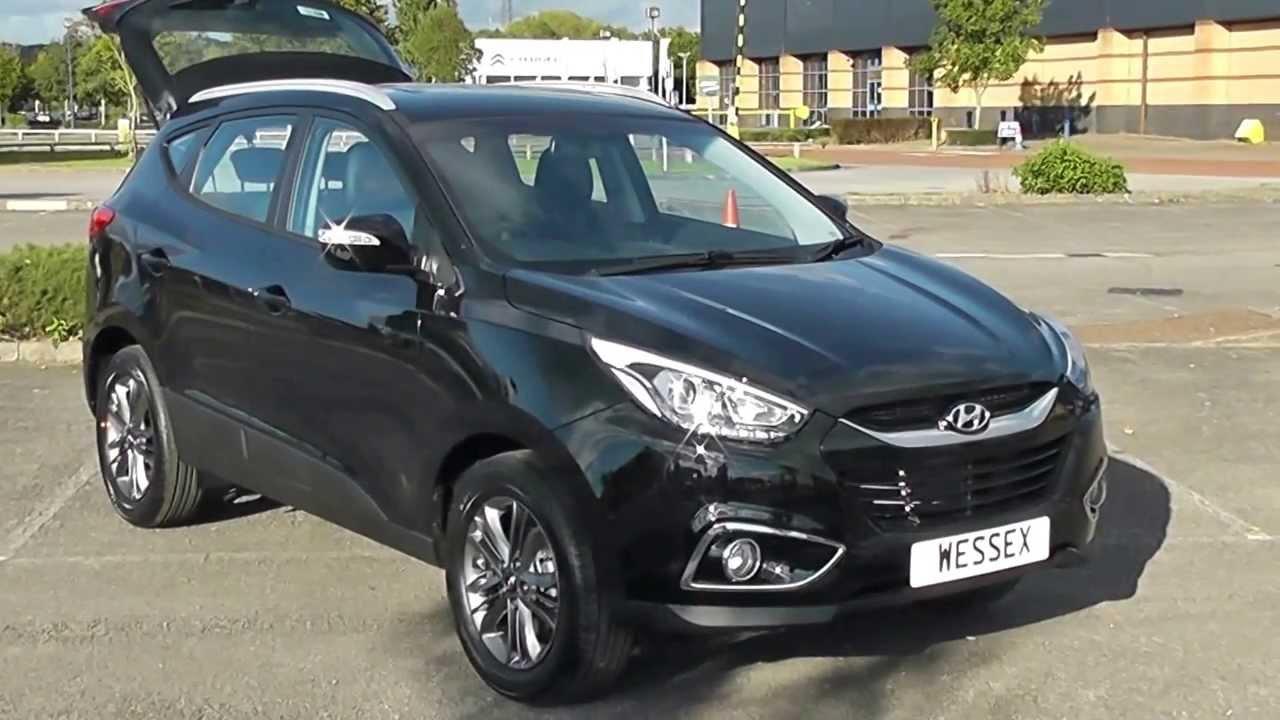 Hyundai Of Newport >> Hyundai IX35 SE Nav (CRDi) 1.7 Black (Pre-registered) Wessex Garages Newport - YouTube