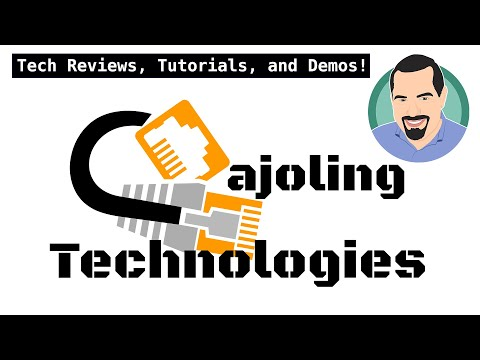 Cajoling Technologies Channel Trailer! Tech Reviews, Tutorials, And Demos.