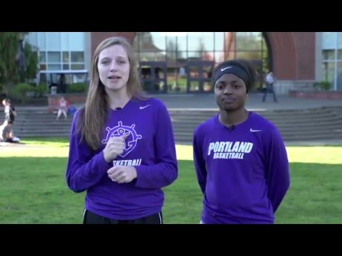 University of Portland Campus Tour With UP Women's Basketball