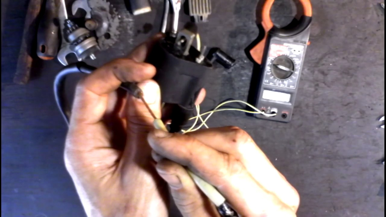 ПРОПАЛА ИСКРА или как проверить катушку зажигания на скутере, мопеде GONE SPARK
