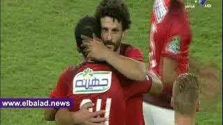 صدى البلد | لحظة خروج حسام غالي من مهرجان اعتزاله لكرة القدم