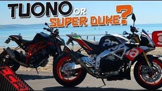 THE KTM Super Duke / Aprilia Tuono Comparison | Which Should You Buy?