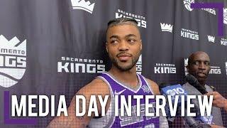 Frank Mason Full Press Conference - Media Day | 2018-19 NBA Season