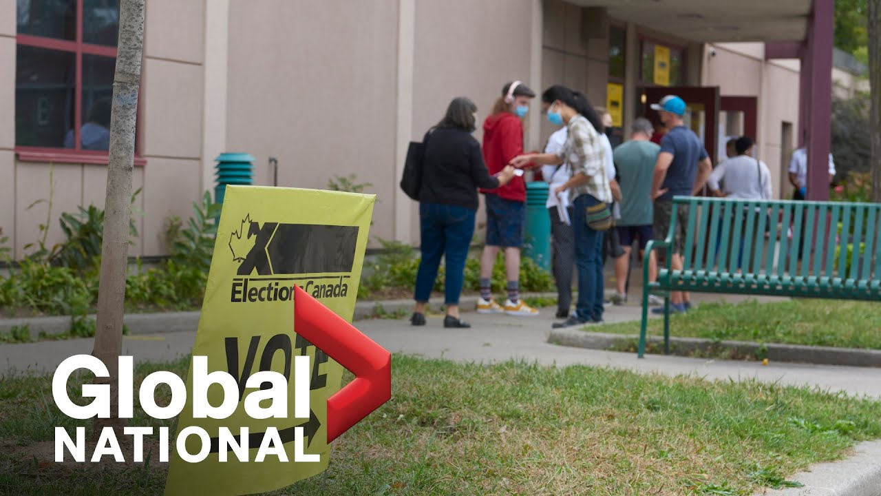 Global National Sept 18 2021 Liberals return to voterich ridings where election race is tight