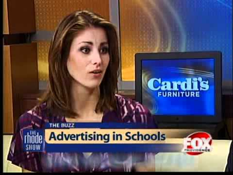 The Buzz: Advertising in Schools - YouTube