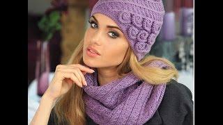 Женские вязанные шапки - фото 2016-2017 / Women's knitted hats(Женские вязанные шапки - фото моделей можно посмотреть на нашем канале и подобрать себе фасон, наиболее..., 2015-11-04T14:48:29.000Z)