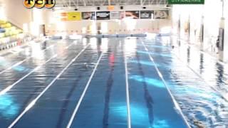 Сборная Молдавии по плаванию в бассейне СК Шериф
