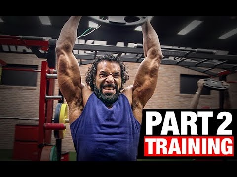 WWE Jinder Mahal Workout | Assessment (PART 2)