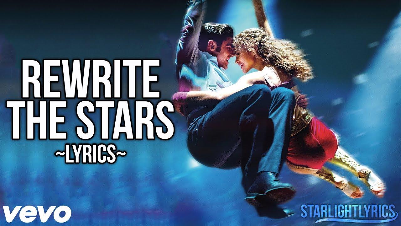 The Greatest Showman Rewrite The Stars Lyric Video Hd