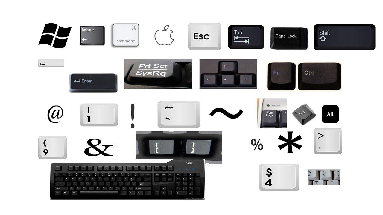 Computer keyboard key Name