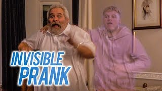 I TURNED MY BRO INVISIBLE PRANK
