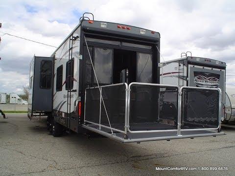 Road Warrior Trailer >> New 2013 Heartland Road Warrior 390 Toy Hauler Mount Comfort Rv