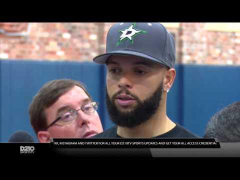 Dallas Mavericks Dirk Nowitzki, Deron Williams and Chandler Parsons Exit Interview