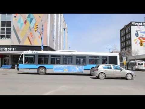 Ex Ottawa Novabus LFS - Saskatoon Transit Action