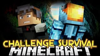 CHALLENGE SURVIVAL Part 1 - Minecraft Diversity 2 - Survival