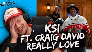 KSI – Really Love (feat. Craig David & Digital Farm Animals) REACTION!!