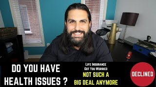 Life Insurance in Toronto Health Issues