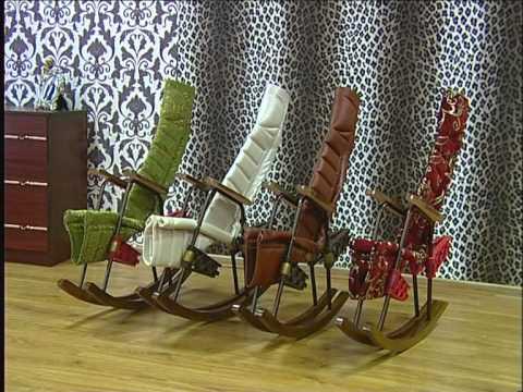Кресла - качалки подвесные - YouTube
