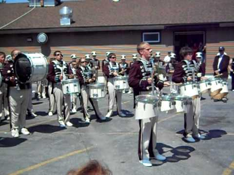 Sackets Harbor Central School Sentinels Marching Band Drumline