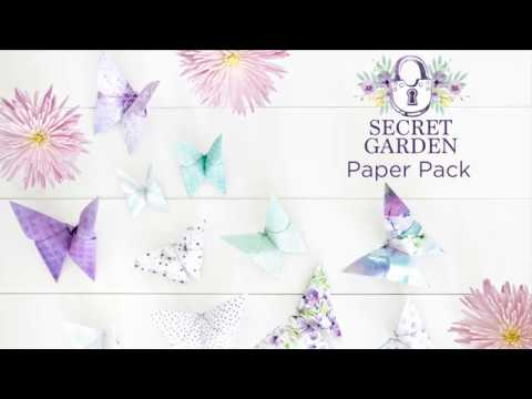 Secret Garden Paper Pack | Creative Memories Australia