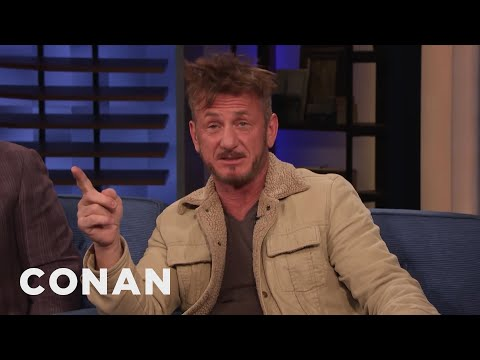Sean Penn's Trip To Mexico With Marlon Brando - CONAN on TBS