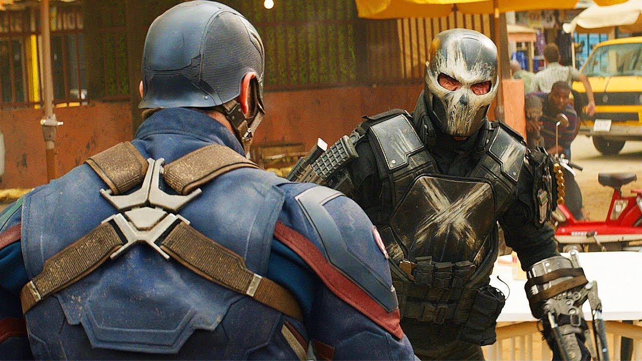 Download Captain America vs Crossbones - Fight Scene - Captain America: Civil War (2016) Movie CLIP HD