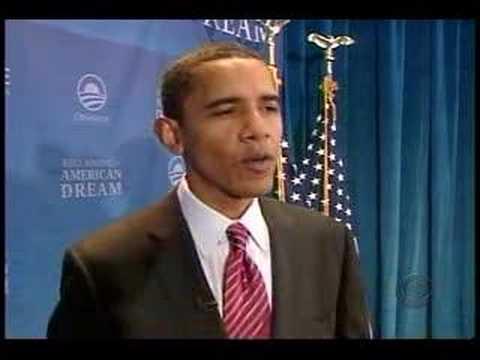 CBS Evening News: Barack Obama in Iowa