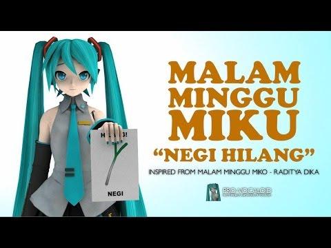 """【3DCGI Vocaloid Drama Indonesia】 Malam Minggu Miku """"Negi Hilang"""""""