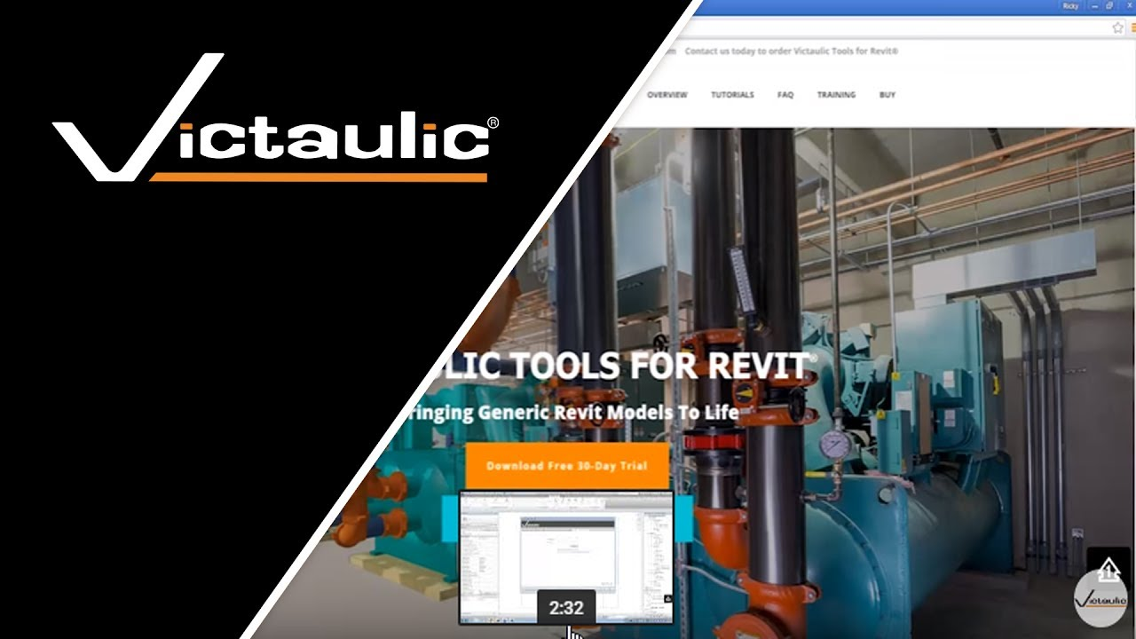 Download a Free Trial of Victaulic Tools for Revit | Victaulic