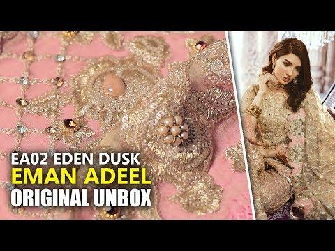 1db7f5e309 👰 Emaan Adeel Bridal Collection 2019 - Unbox EA0 2 Eden Dusk - Sara  Clothes - YouTube