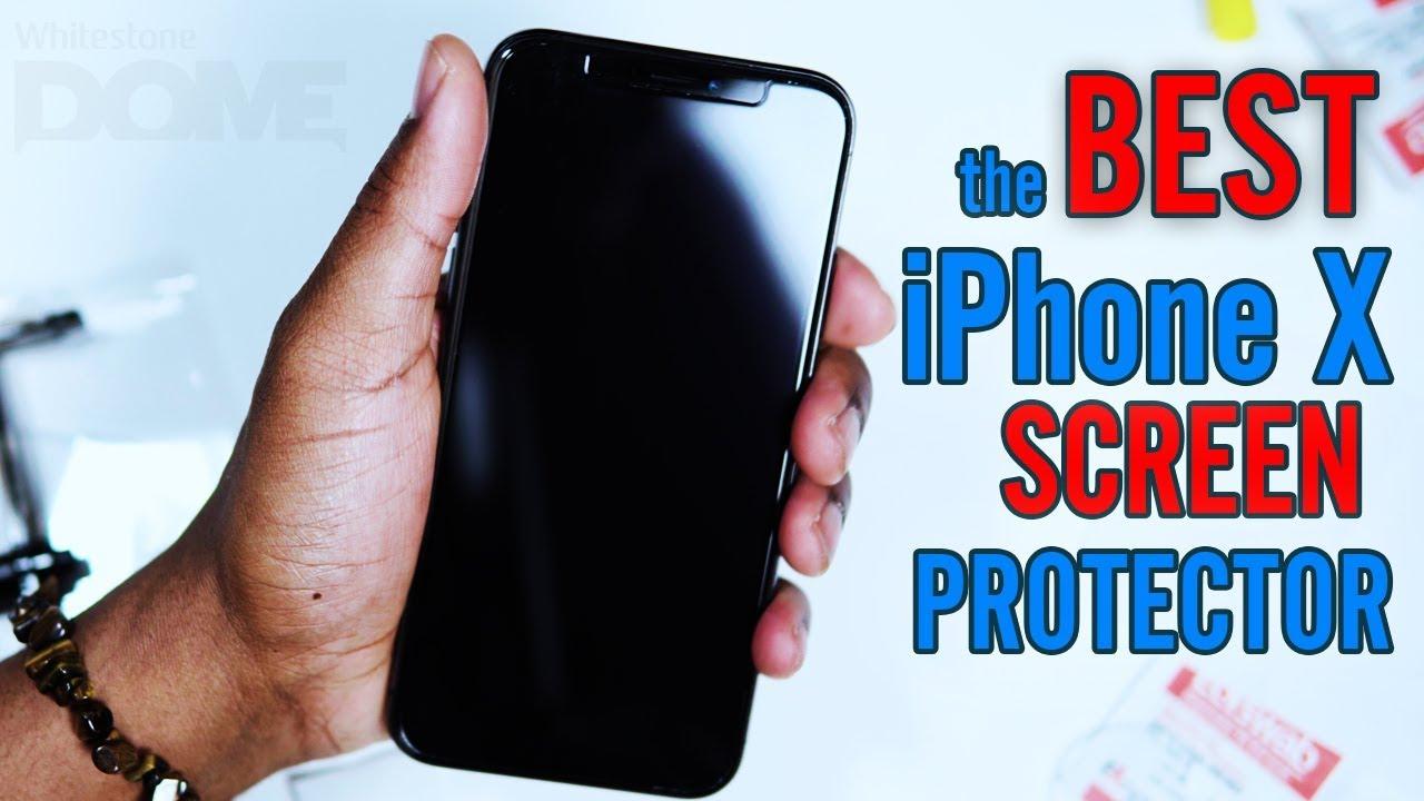 sports shoes a4787 81d23 Hands down the BEST Screen Protector for your iPhone X Whitestone Dome  Glass Installation