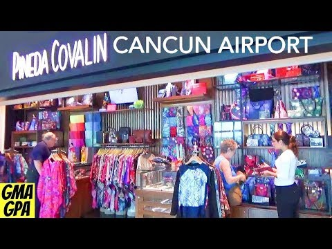 Shopping & Restaurants At The Cancun Mexico International Airport - What You Can Do Before You Fly!