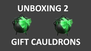 TF2: Unboxing 2 New Gift Cauldrons