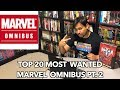 Top 20 Most Wanted Marvel Omnibus part 2