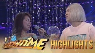 """It's Showtime Miss Q & A: Vice looks for """"Ate Girl"""""""