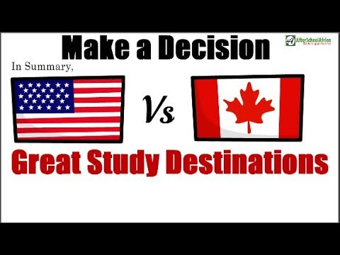 Studying In Canada Vs USA - Which Is Better? Study Abroad Comparison