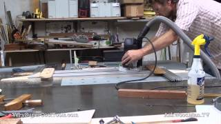 813. Routing The Miter Track  • Table Saw Work Station Series