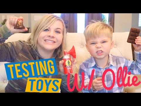 TESTING TOYS OUT WITH OLLIE! 😁 // SoCassie