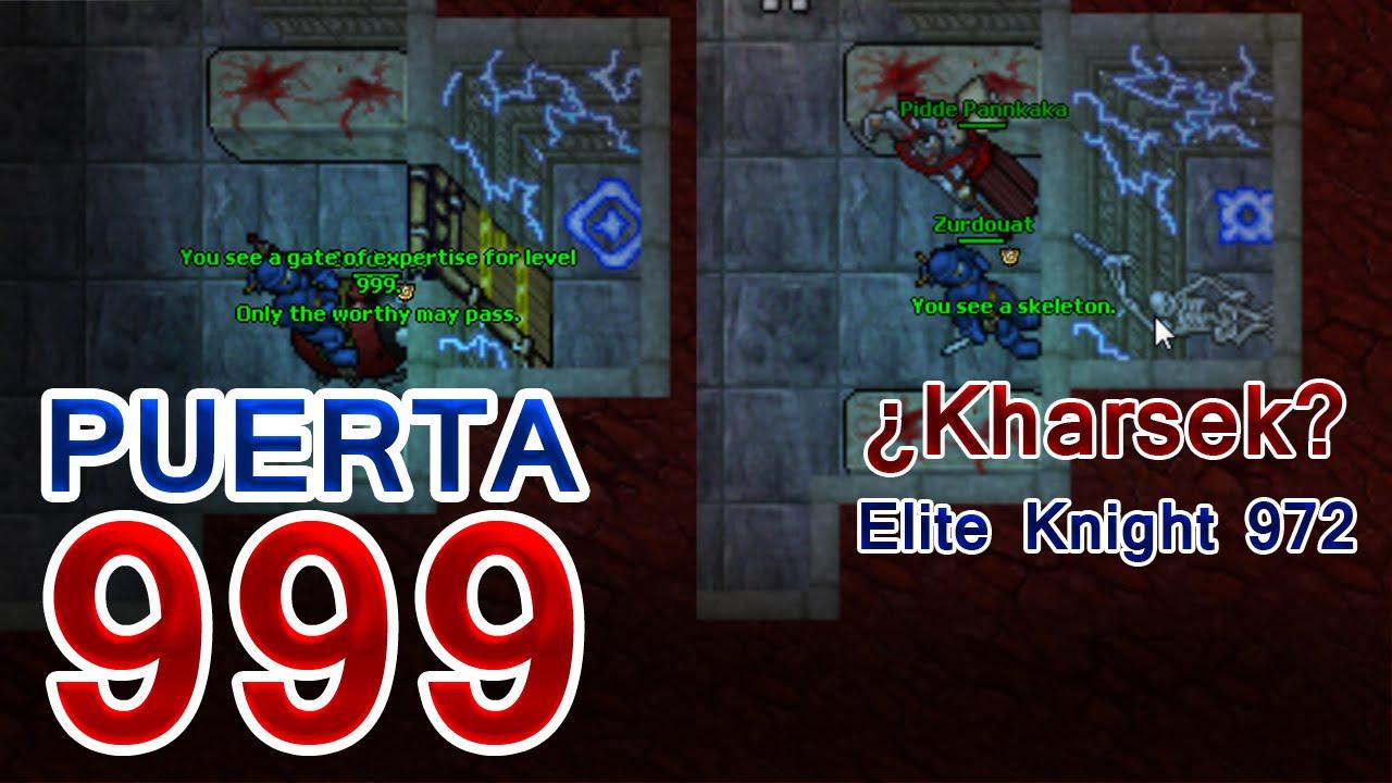 Tibia summer update puerta 999 eliminada for Door 999 tibia