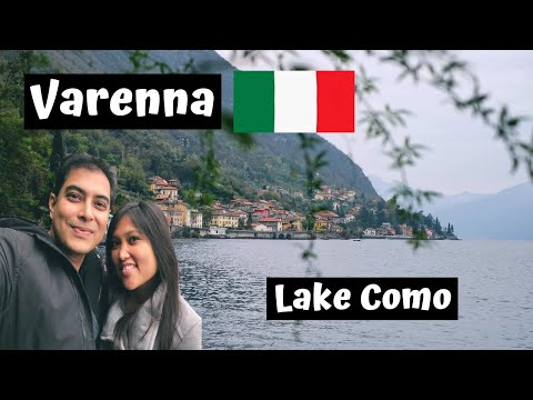 THE CHARMING TOWN OF VARENNA ON LAKE COMO (ITALY VLOG)