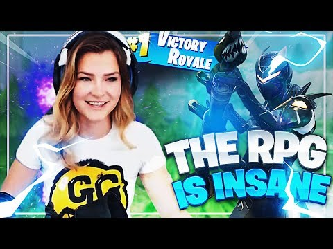 THE RPG IS TOO STRONG! 12K SOLO WIN (Fortnite: Battle Royale) | KittyPlays