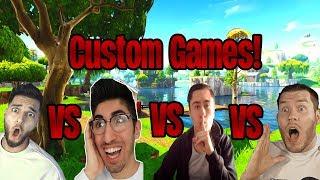 Best of Custom Games! ft. ApoRed, Steel und StandartSkill | Fortnite Battle