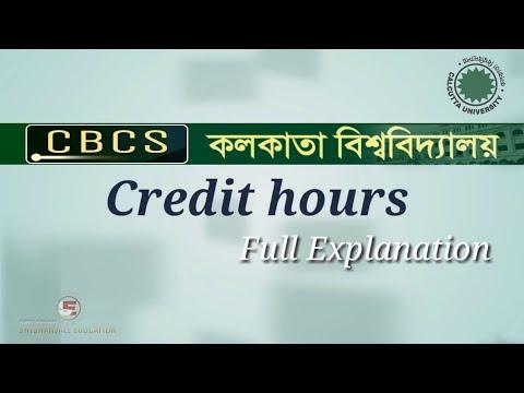 CBCS and Credit Hours || Full Explained || Calcutta University Exam Pattern || ShikshanjaliEducation